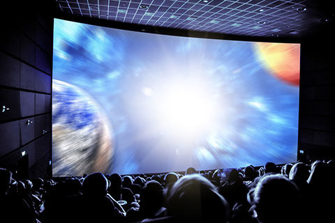 Super Nova Onscreen in Theater